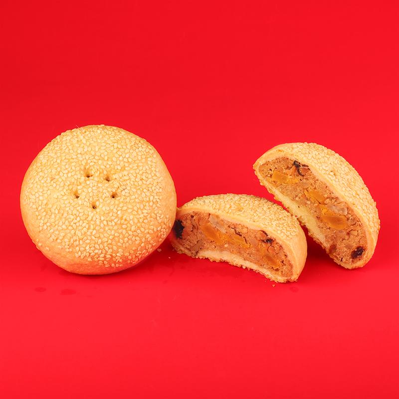 箱仔餅(芝麻核桃加蛋黃)